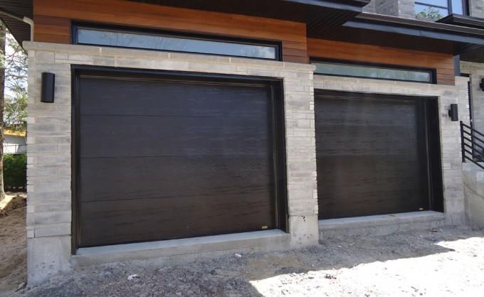Porte de garage moderne id es d coration int rieure - Porte de garage moderne ...